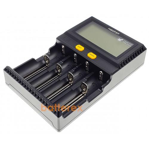 MIBOXER C4 V3 - зарядка на 4 аккумулятора Li-ion/LiFePO4/NiMH/Ni-Cd с током заряда до 1,5А. Гарантия 12 месяцев.