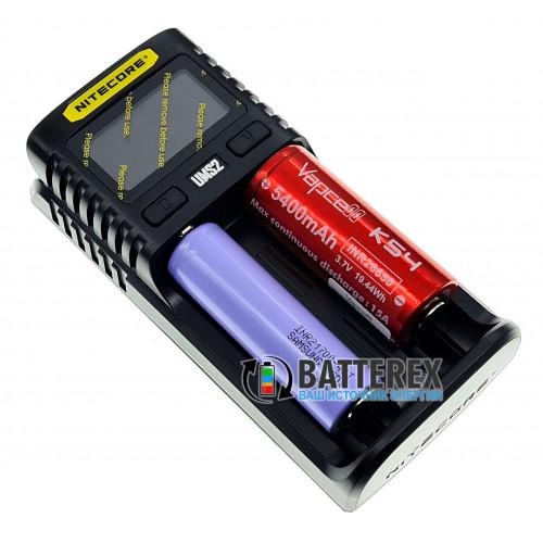 Nitecore UMS2 - быстрая универсальная 2х-канальная USB-зарядка с током заряда до 3А. Оригинал, гарантия 12 месяцев