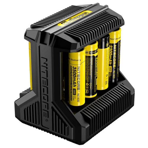 Nitecore Intellicharger i8 - 8-канальная универсальная зарядка для аккумуляторов AA/AAA/C/D/18650 и др. (Li-ion и Ni-MH)