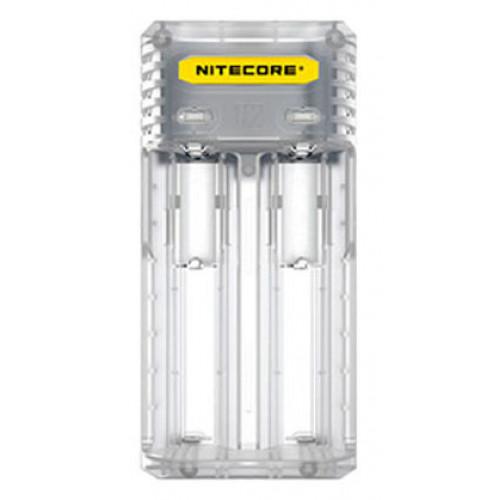 Nitecore Q2 Lemonade (белое) - быстрое сетевое зарядное устройство на 2 канала для Li-ion аккумуляторов
