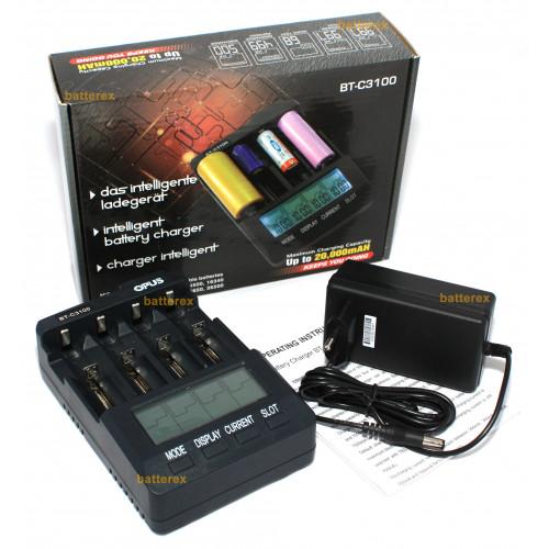 Opus BT-C3100 v2.2 - универсальное зарядное устройство для AA, AAA, Li-ion