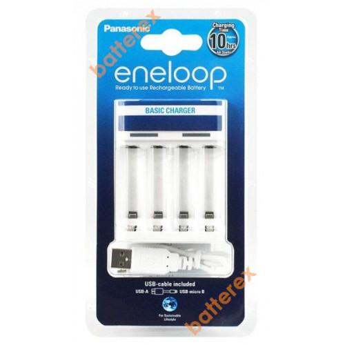 Panasonic Eneloop BQ-CC61E Basic USB Charger - USB-зарядное устройство для АА/ААА аккумуляторов