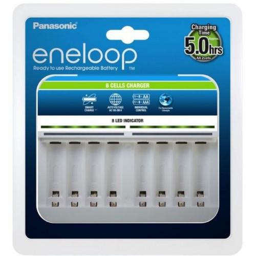 Panasonic Eneloop BQ-CC63 Advanced Charger - зарядное устройство на 8 каналов для АА/ААА аккумуляторов