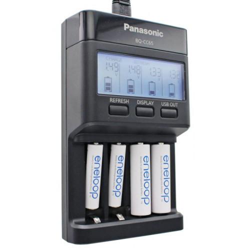 Panasonic Eneloop BQ-CC65 Advanced Charger - продвинутое интеллектуальное зарядное устройство