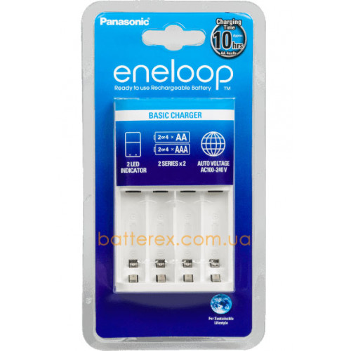 Panasonic Eneloop BQ-CC51H Basic Charger - простое зарядное устройство для АА/ААА аккумуляторов