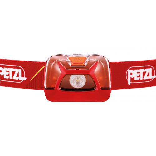 Фонарь налобный Petzl Tikkina 250 lumens Red (3 AAA, 3 режима, 120 часов) - оригинал