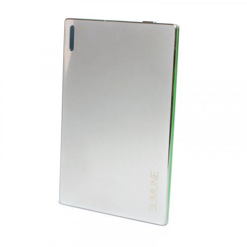 Ультратонкая мобильная батарея (PowerBank) Extradigital SLIMLINE chrome 2000mah