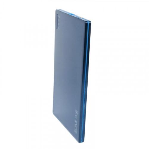 Ультратонкая мобильная батарея (PowerBank) Extradigital SLIMLINE blue 2000mah