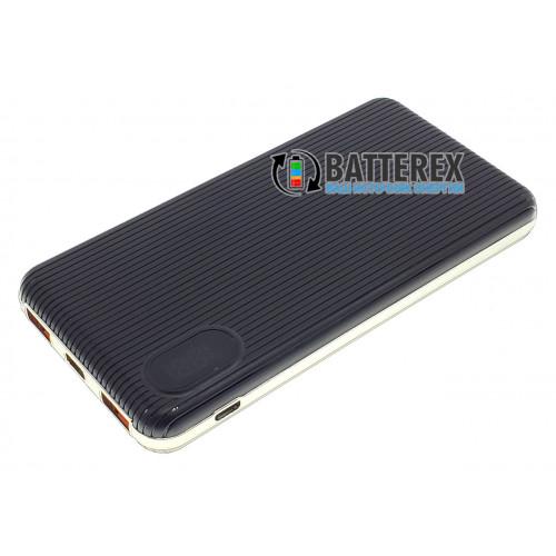 Повербанк PowerBank HQ-Tech 5508QC 10000mah чёрный с поддержкой быстрого заряда QuickCharge 3.0