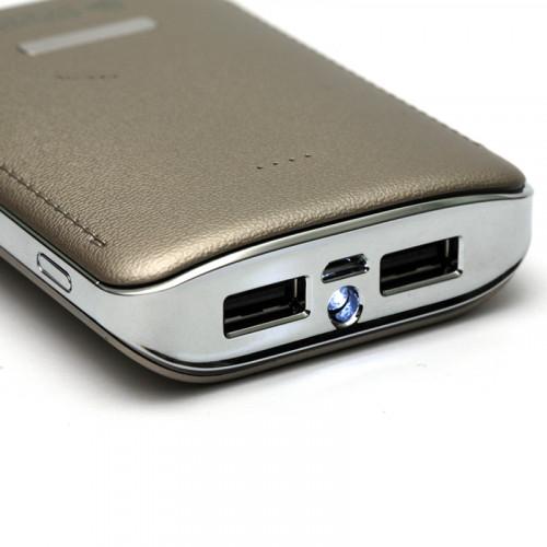 Мобильная батарея (PowerBank) PowerPlant PB-LA9236 7800mAh универсальный кабель