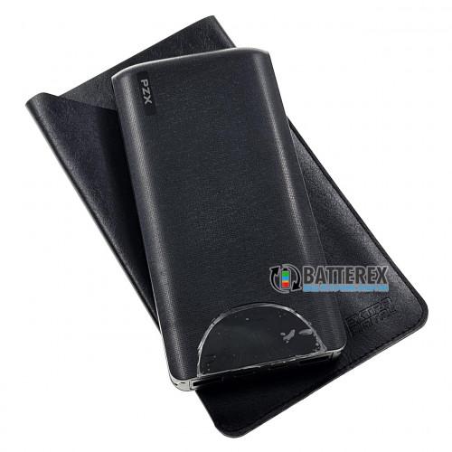 Повербанк PXZ V20 20000mah 5V 3A чёрный + чехол Extradigital в подарок