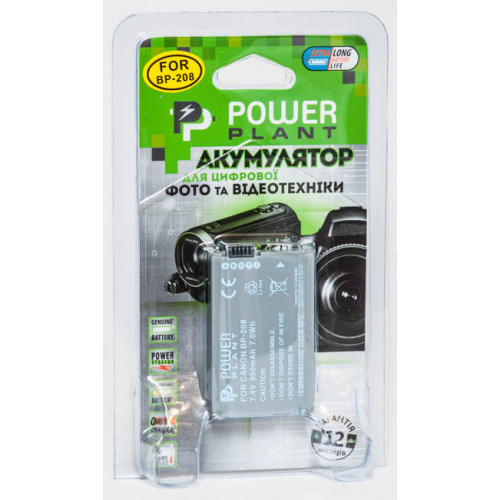 Aккумулятор Canon BP-208