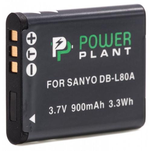 Aккумулятор PowerPlant Sanyo DB-L80, D-Li88