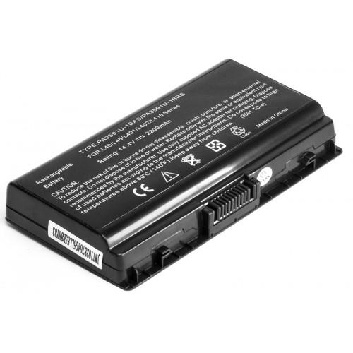 Аккумулятор для ноутбуков TOSHIBA Satellite L40 (PA3591U-1BRS, TO-3591-4) 14.4V 2200mAh
