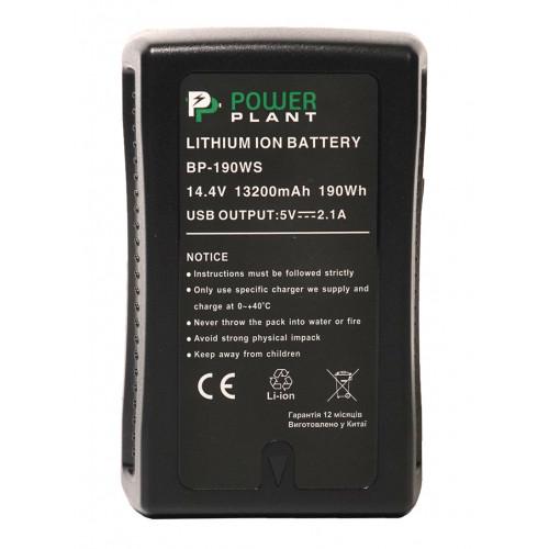 Аккумулятор  Sony BP-190WS