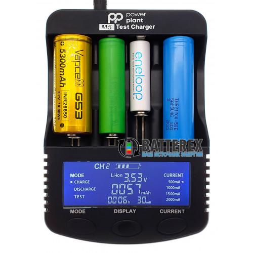 PowerPlant PP-M5 - продвинутое интеллектуальное зарядное устройство для Ni-MH и Li-ion аккумуляторов