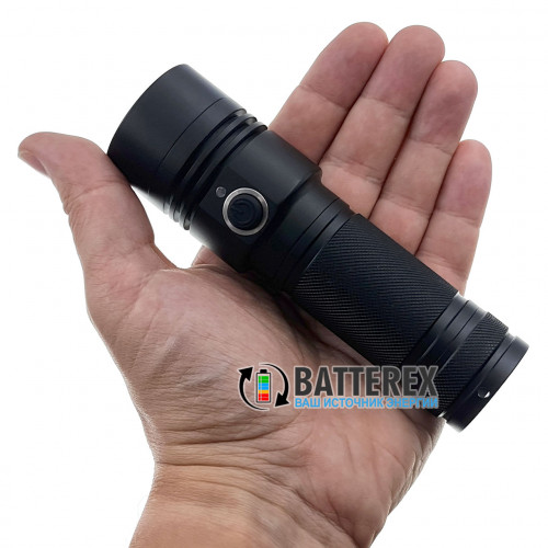Soshine TC17 USB 1100Lm - яркий ручной фонарь с зарядкой от USB, питание 18650/26650, защита от воды