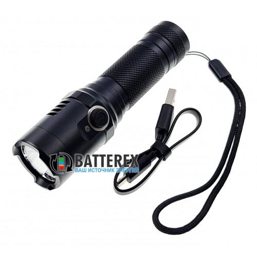 Soshine TC18 USB 1100Lm - яркий ручной фонарь с зарядкой от USB, 3 режима яркости, магнитное крепление