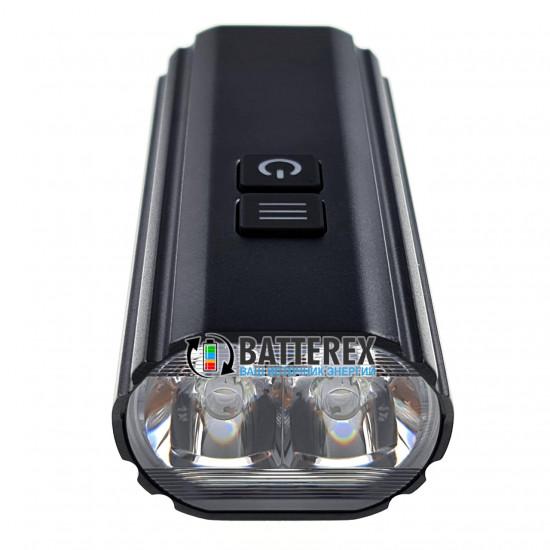 Велосипедный фонарь Soshine TB1 с креплением на руль и зарядкой от USB Type-C