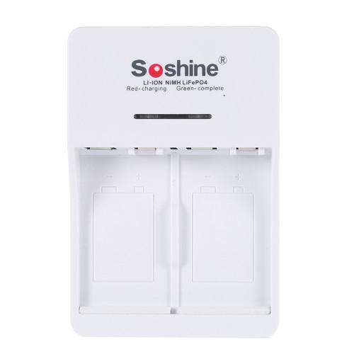 Soshine SC-V1 (Fe) - универсальное зарядное устройство для Крон Ni-MH/Li-ion/LiFePO4