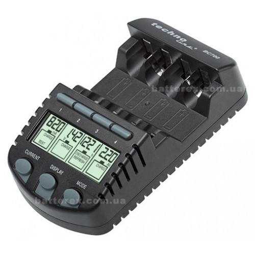 Technoline BC-700 - интеллектуальное зарядное устройство. Оригинал, гарантия 12 месяцев.