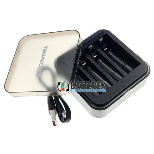 Tenavolts TS-C1 - зарядное устройство для литиевых Li-ion аккумуляторов АА/AAA 1,5V на 4 канала