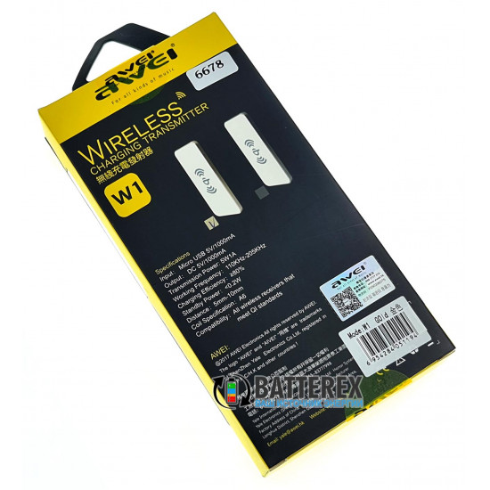 Беспроводное зарядное устройство AWEI W1 Wireless Charger