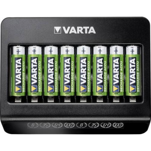 VARTA LCD Multi Charger Plus - зарядное устройство на 8 аккумуляторов AA/AAA