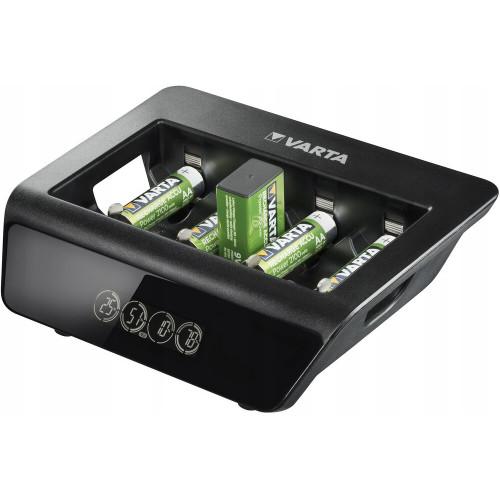 VARTA LCD Universal Charger Plus - универсальное зарядное устройство для аккумуляторов AA/AAA/C/D/Крона
