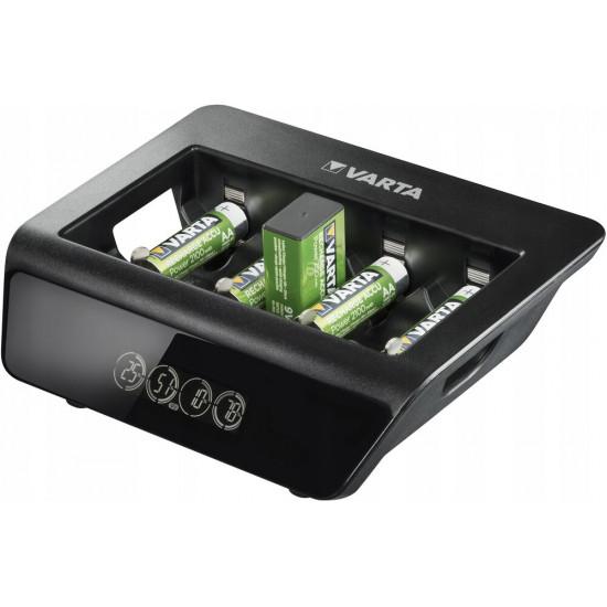 VARTA LCD Universal Charger Plus - зарядное устройство для аккумуляторов AA/AAA/C/D/Крона