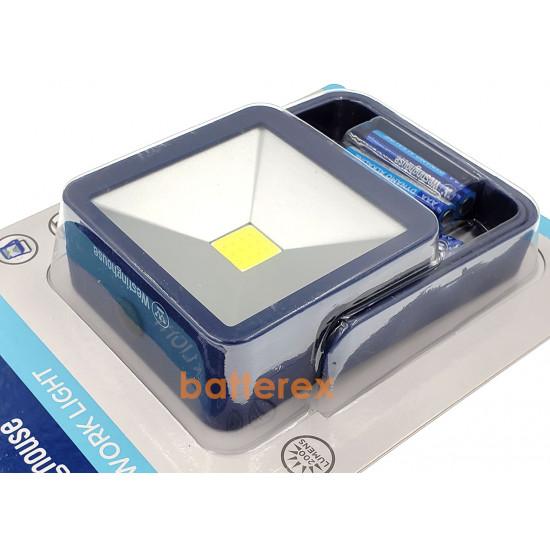 Фонарь Westinghouse WF1530 3W Work Light - рабочий свет (4 ААА, поворотная ручка-подставка, магнитное крепление)