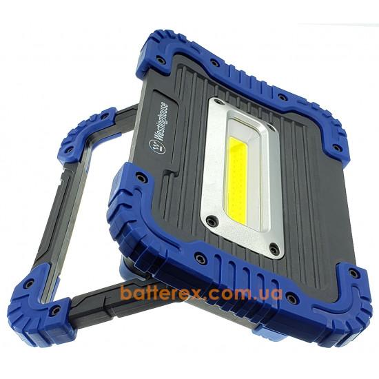 Фонарь Westinghouse WF57 10W Work Light - встроенный аккумулятор 4400mah, поворотная ручка-подставка, функция Powerbank