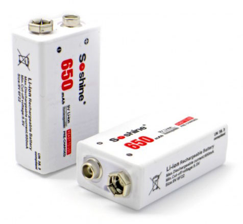 крона li-ion soshine 650mah