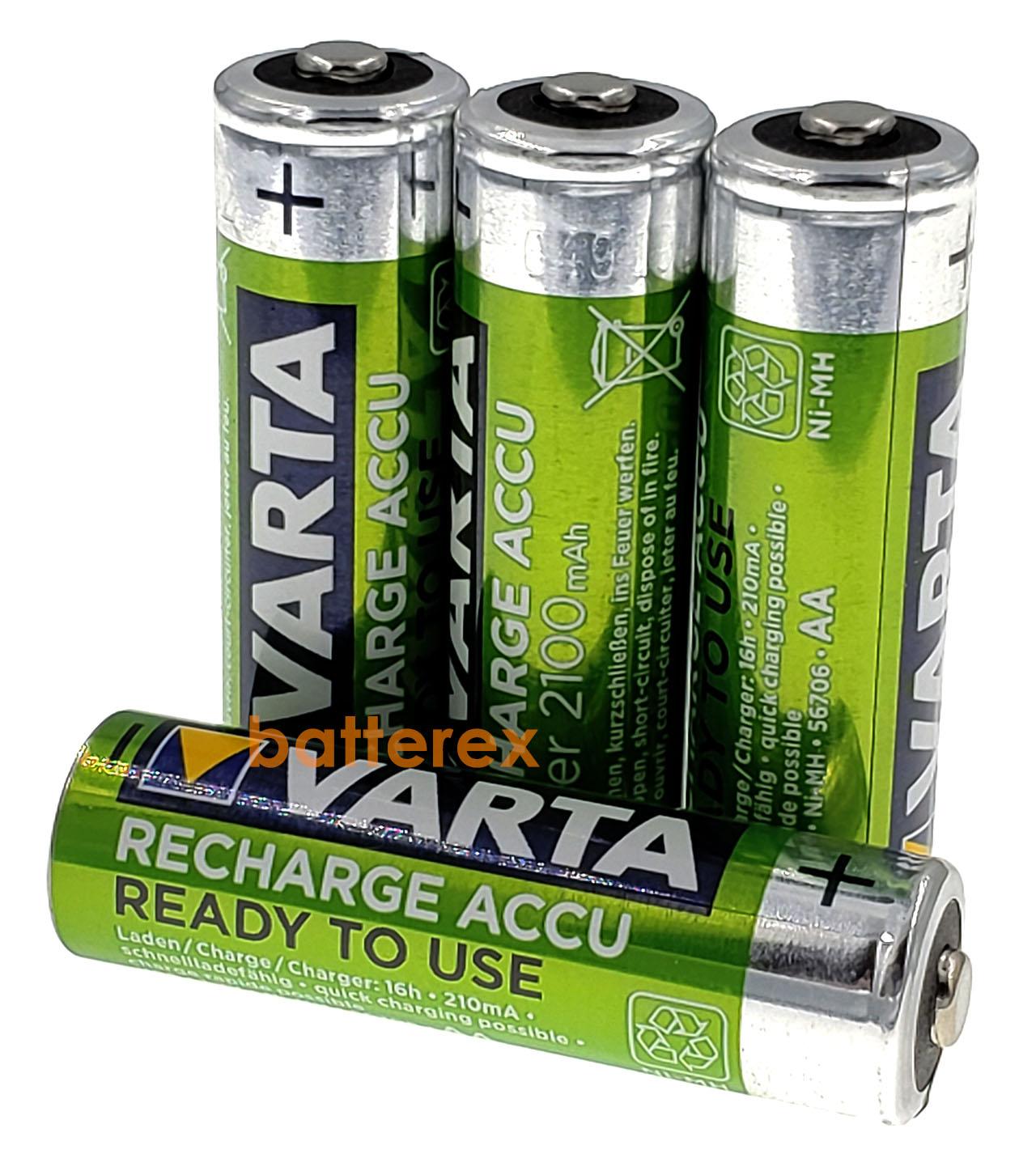 Купить АА аккумуляторы Varta 2100mah