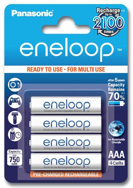 Panasonic Eneloop 800mah BK-4MCCE/4BE