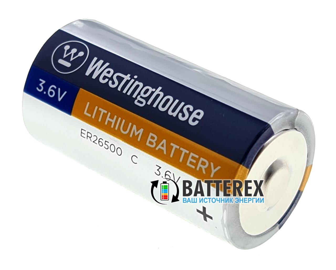 Батарейка литиевая Westinghouse ER26500 C 3.6V LiSOCl2