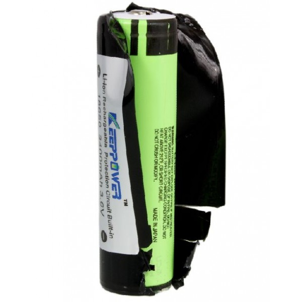 18650 keeppower 3400 mah
