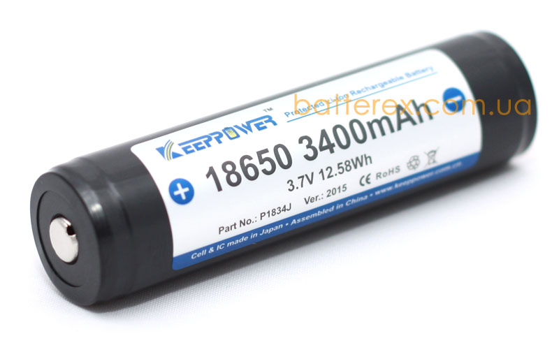 18650 keeppower 3400mah