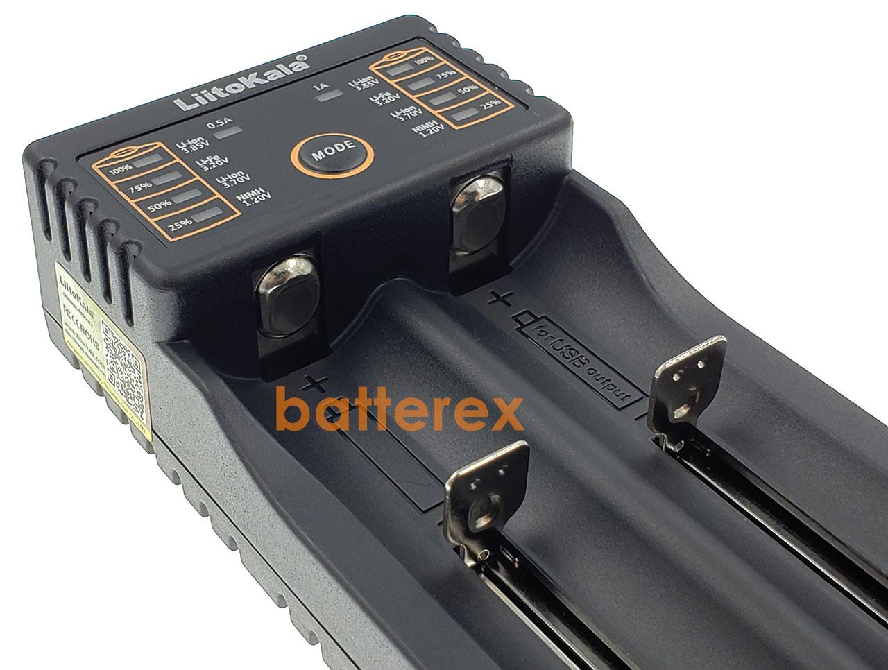 Liitokala Lii-202 купить зарядное устройство