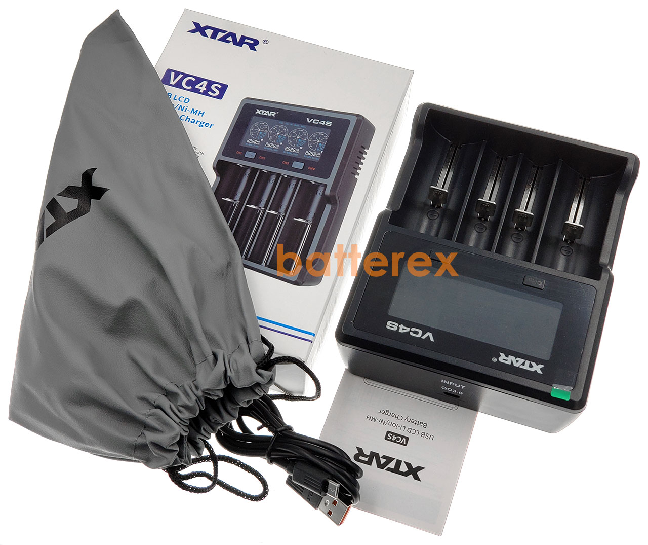 Зарядное устройство XTAR VC4S